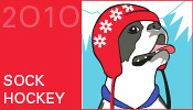 Ravelympics Medal: Sock Hockey