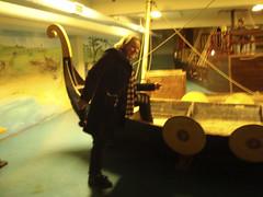 Me boarding the Viking Ship