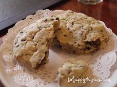 Choc chip cookie