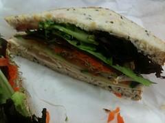 4/365 chicken salad sandwich