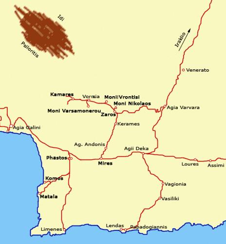 Zaros map