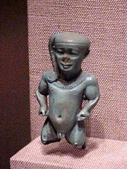 Pendant depicting the Dwarf God Pataikos Egypt...