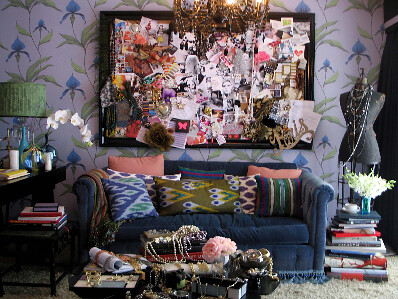 kishani design Molly Sims office