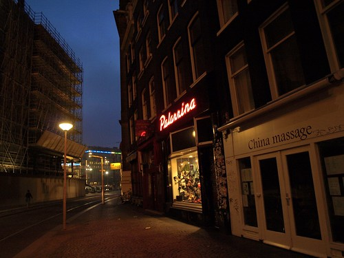 China Massage & Bra Shop next to the Palace!
