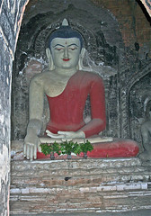 Buddha in earth touching mudra