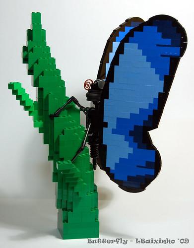 LEGO lbaixinho butterfly