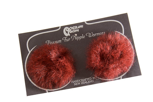 Possum Fur Nipple Warmers