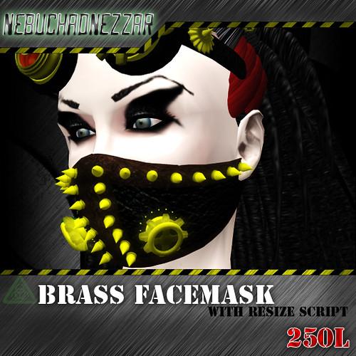 NDN - Brass Facemask