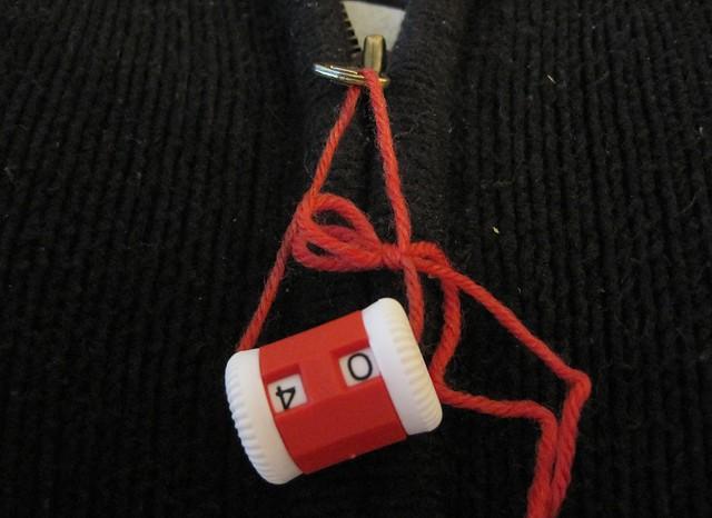 counter on a zipper