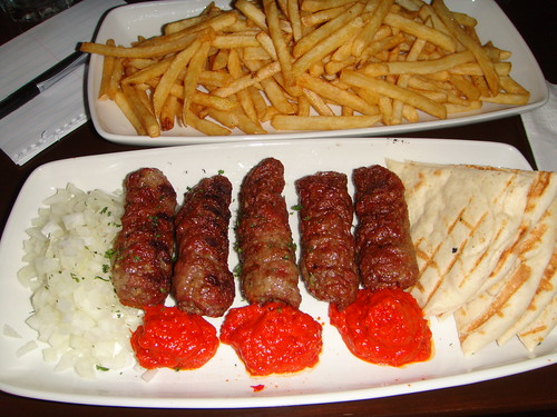 Time Cafe - Cevapcici and a Side of Fries
