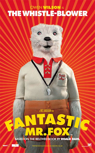 Fantastic Mr. Fox (2009) character poster-The-Whistle-Blower