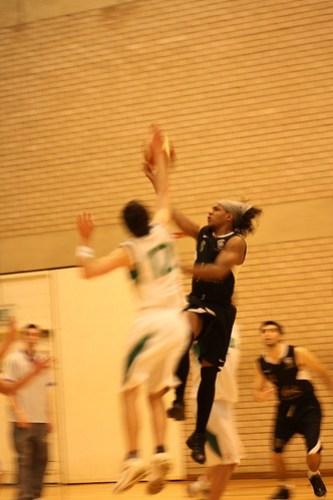 Basketball v. Leeds, 20091209, Rachel Elgar, 1