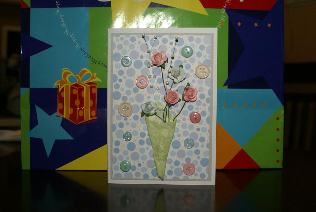Happy Birthday Button Bouquet