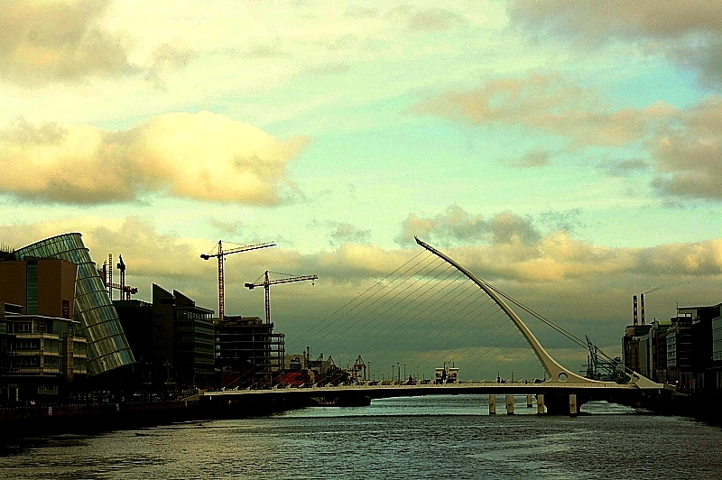 Samuel Beckett Bridge, Dublin, 2009