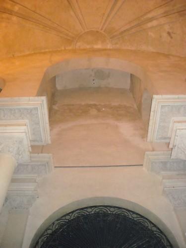 La cúpula al entrar