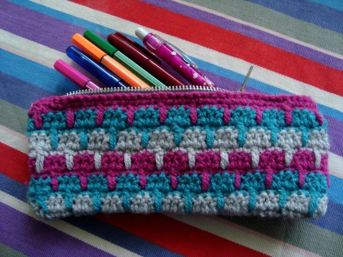 Bsquared crocheted pencilcase