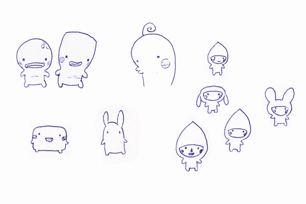 Creature doodles