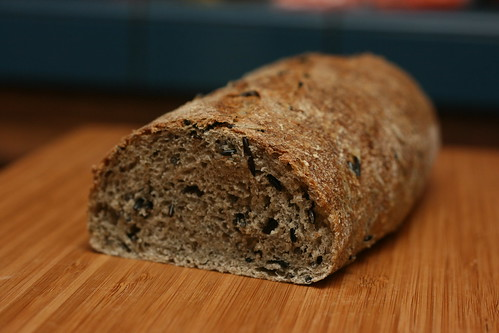 Wild Rice and Thyme Bread