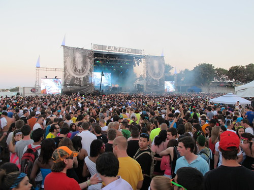 The Crowds at Ultra Music Festival