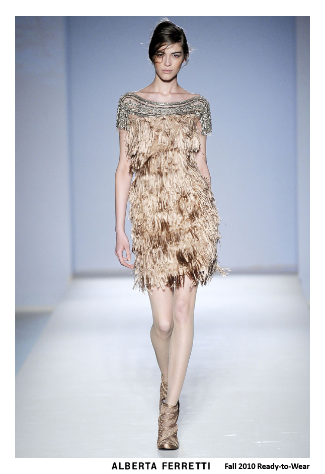 alberta ferretti fall 2010 - cocktail