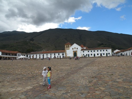 Villa de Leyva, Plaza Mayor