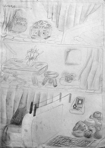 Inside the Hobbit hole - Dans le trou du Hobbit