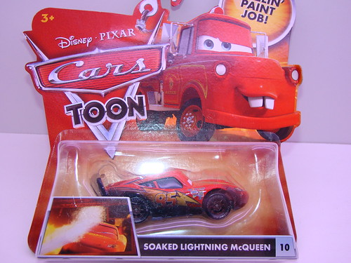 CARS Soaked Lightning mcqueen