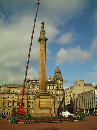 20090920 Glasgow 02 George Sq. 50 Walter Scott Statue