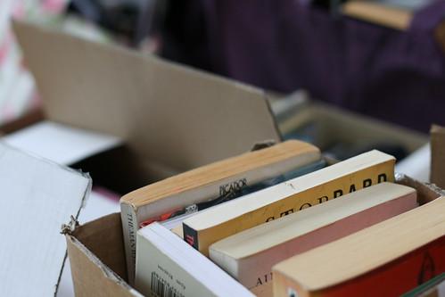 Sunday: Moving Books