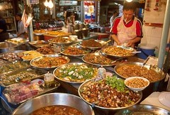 A selection of delicious (and cheap) Thai street food