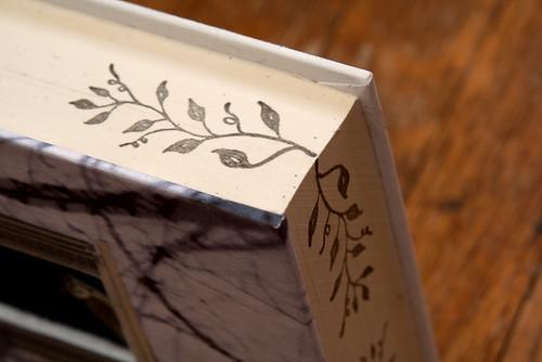 Altered Book: The Littlest Birds - detail