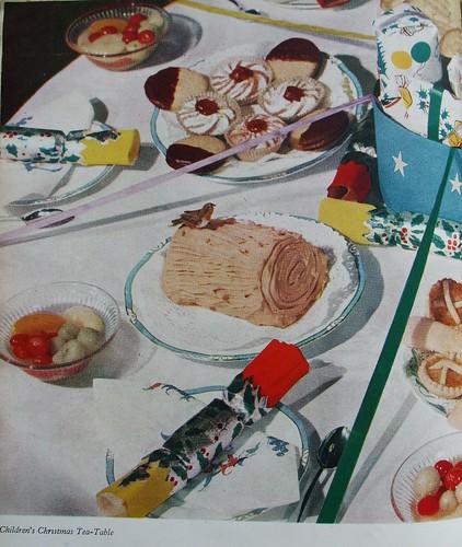 Children's Christmas Tea Table