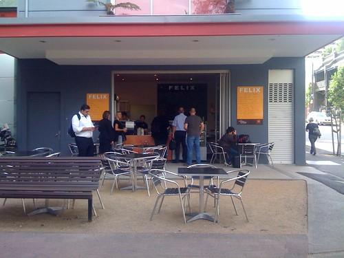 Felix cafe, surry hills