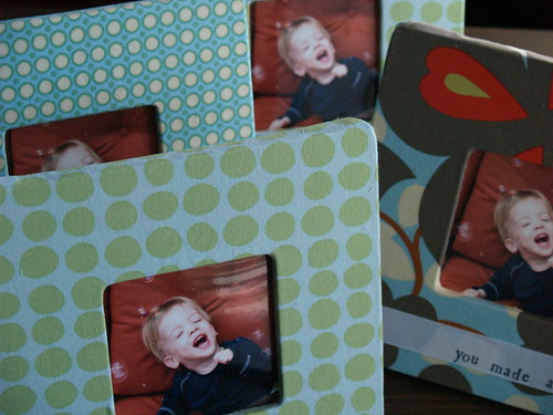 Fabric Covered Frames