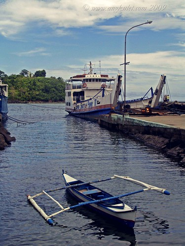 Boat and ferry at Balingoan Port - on the way to Camiguin