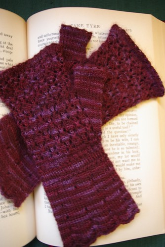 Wine & Roses Mitts