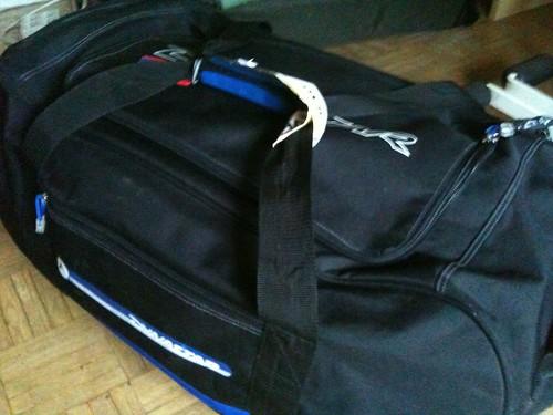 La maleta volvió