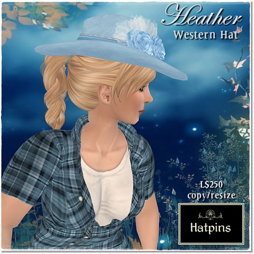 Hatpins - Heather