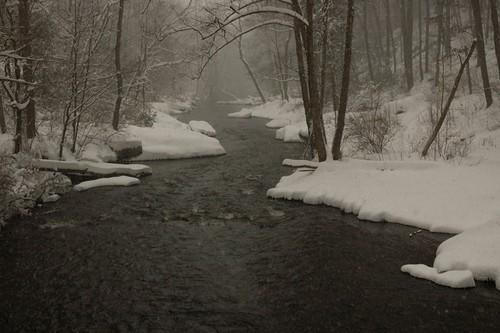 Snowy Gunpowder River
