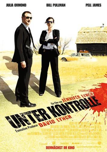 Surveillance (2008) poster Russian