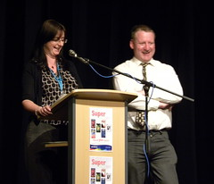 Zoe and Tony at Sefton Super Reads