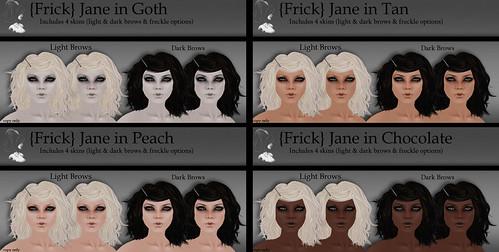 {Frick} Pinups - Jane