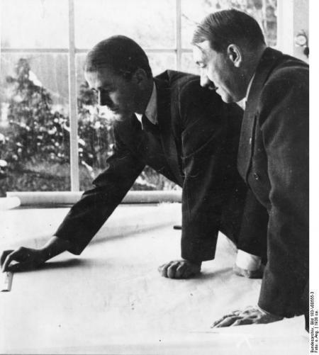 Albert Speer con Hitler