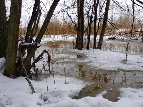 Flüssiger Schnee