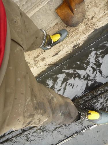 南郷泥アゲ大作戦 第2戦, 気仙沼でボランティア Mud dredge volunteer at Nango, Kesennuma, Miyagi pref.