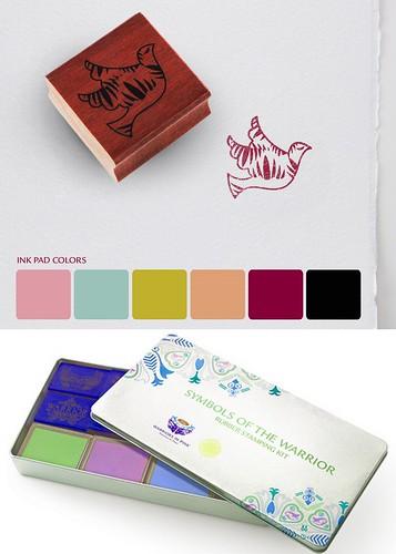 warrior stamp kit