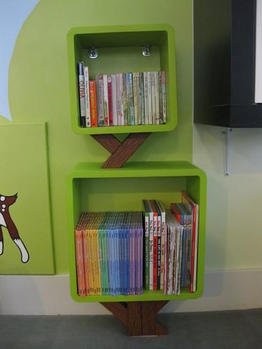 Tree Bookcase w/Books