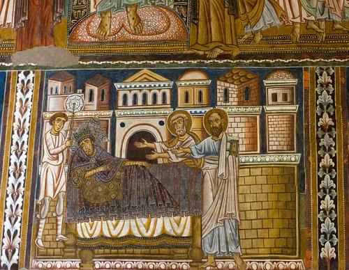 Capella di S. Silvestro at S. Quattro Coronati