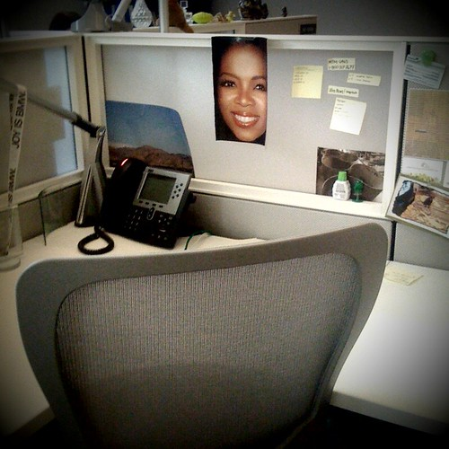 4/365: not even oprah can make up for @jillieu being gone for a week  :(