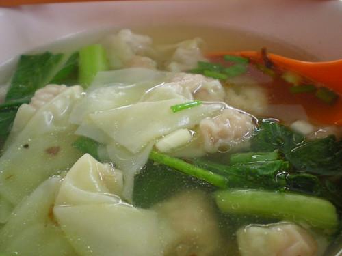 Lucky Cafe SP wan tan soup